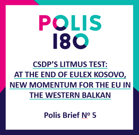 POLIS BRIEF #5 | CDPS's Litmus Test