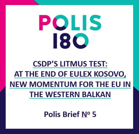 POLIS BRIEF #5 | CDPS's Litmus Test