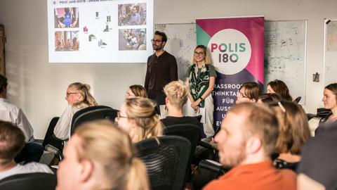 23. Mai | Mitgliederversammlung: Polis180 wählt neuen Vorstand