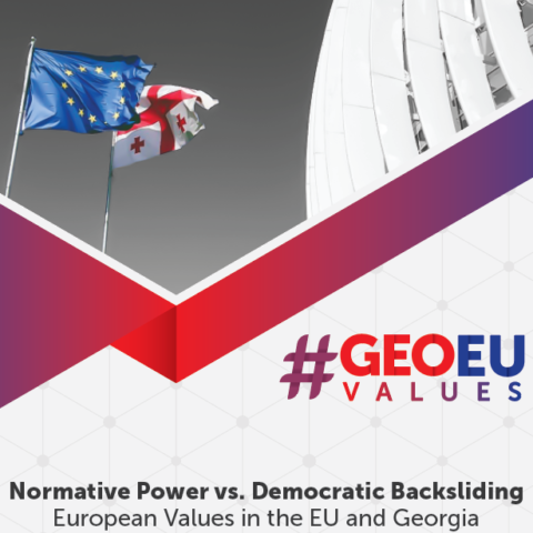#GEOEUvalues Policy Paper | Normative Power vs. Democratic Backsliding
