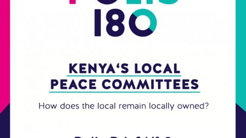 Polis Brief N° 8 | Kenya's Local Peace Committees