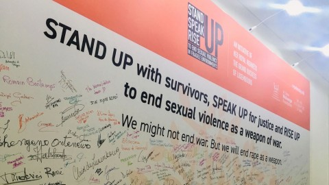 REPORT | StandSpeakRiseUP – Ending Sexual Violence in Fragile Environments