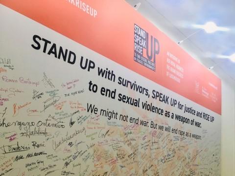REPORT | StandSpeakRiseUP – Ending Sexual Violence in Fragile Environments