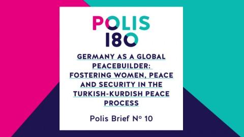 Polis Brief N° 10   Germany as a Global Peacebuilder